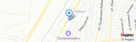 Азия Мегасервис на карте Алматы