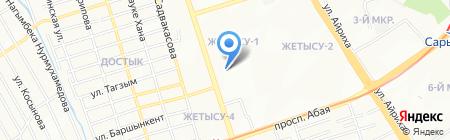 Flirt на карте Алматы