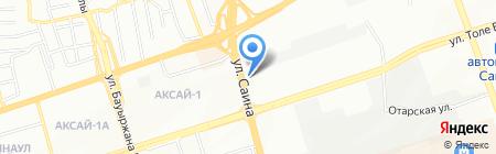 Жани на карте Алматы