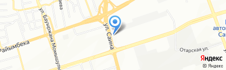 InjektorService на карте Алматы