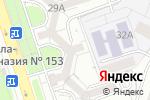 Схема проезда до компании Flirt в Алматы