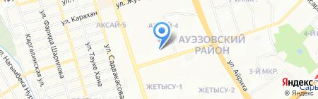 Радуга на карте Алматы