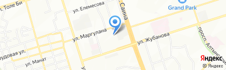 Ясли-сад №56 на карте Алматы