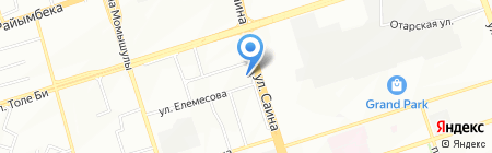 Ален на карте Алматы