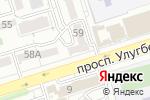 Схема проезда до компании Аптека в Алматы