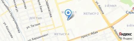 Риа Бизнес на карте Алматы