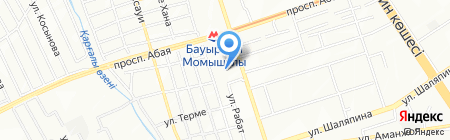 Дом ветеранов на карте Алматы