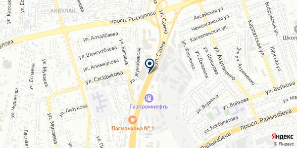 AURA на карте Алматы