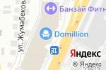 Схема проезда до компании Айко в Алматы