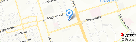 Гроза сеть спортивных клубов на карте Алматы