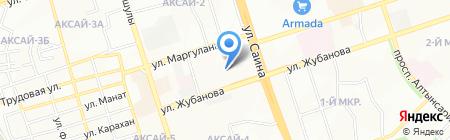 Столичный на карте Алматы