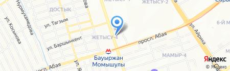 Adal Estate на карте Алматы