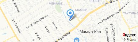Танаис на карте Алматы