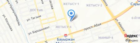 Unidance на карте Алматы