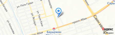 BELLA на карте Алматы