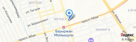 Донер-центр на карте Алматы