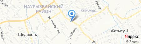 WOW events на карте Алматы