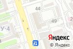 Схема проезда до компании Жетысу в Алматы