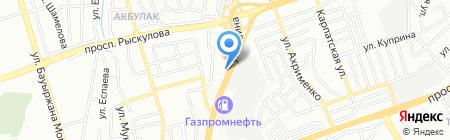 Royal Doner на карте Алматы