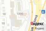 Схема проезда до компании Модуль в Алматы