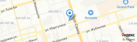 Ломбард Тез-экспресс на карте Алматы