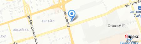 Совершенный стиль на карте Алматы