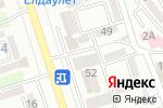 Схема проезда до компании The Office в Алматы