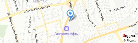 АлматыСервис торговая компания на карте Алматы