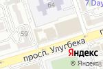 Схема проезда до компании Ак Отау в Алматы