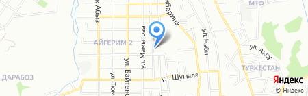 Жолдас секьюрити на карте Алматы