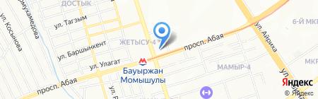 Зам-Зам на карте Алматы