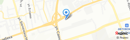 Макс на карте Алматы