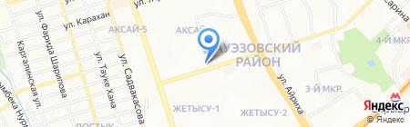 OptoMarkt на карте Алматы