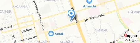 РАДУЖНЫЙ на карте Алматы