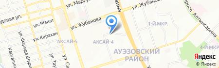 Народный Банк Казахстана на карте Алматы