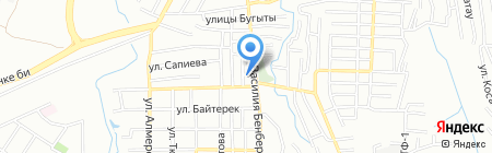 КапРемМаш на карте Алматы