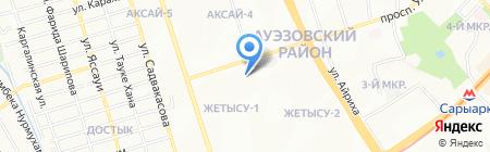 Городская детская библиотека №18 на карте Алматы