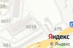 Схема проезда до компании Veramed в Алматы