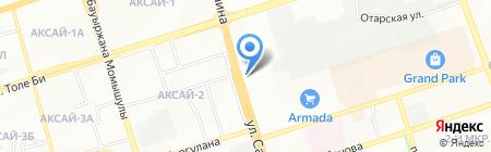 Кавказская пленница на карте Алматы