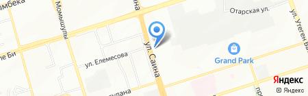 HAPS на карте Алматы