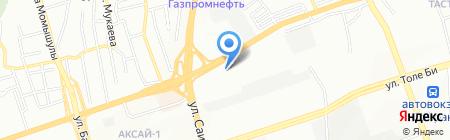 Мусса Фарм на карте Алматы