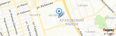 Школа-лицей №126 на карте Алматы