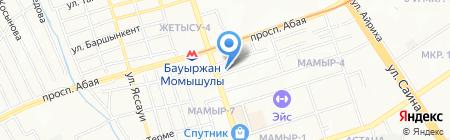 Элигита-Азия ТОО на карте Алматы