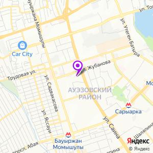Медицинский центр Сункар на Жубанова на карте