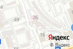 Схема проезда до компании Рахат в Алматы