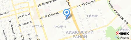 Саулык на карте Алматы