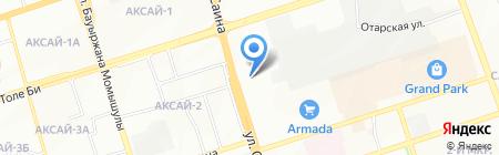 Лагуна на карте Алматы