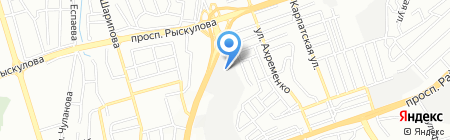 STAT-СЕРВИС на карте Алматы