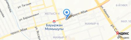 Eurasia-777 на карте Алматы