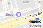 Схема проезда до компании GRAZ Ltd в Алматы